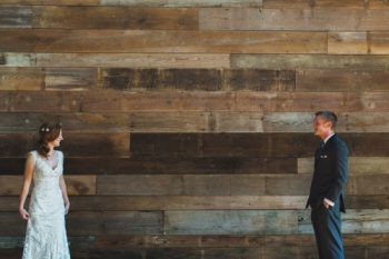 Elegent-wedding-event-venue using mixed width barn board