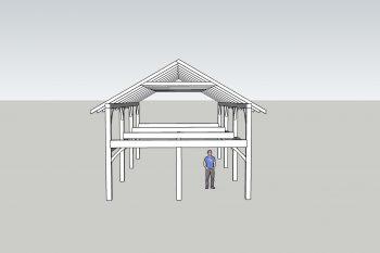 12 x 6 Kitset Barn Frame